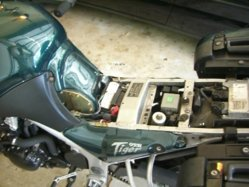 955i Changing Air Filtertank Removal Triumph Motorcycle Forum