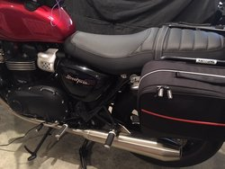 Ventura Panniers/luggage For 2017 Street Twin | Triumph