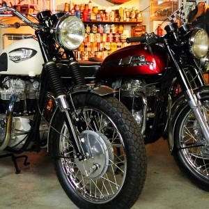 Garage Company: Vintage Motorcycle Shop and Bike Collection! On Two Wheels Ep. 40 - YouTube
