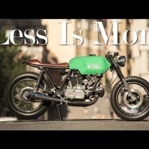 Cafe Racer (Ducati 860 GTS By 6/5/4 Motors)