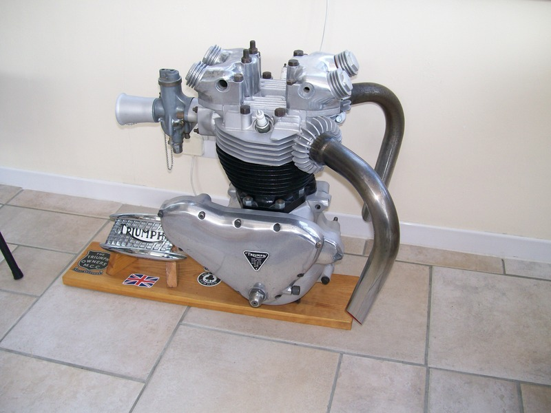 Triumph Engine For Display